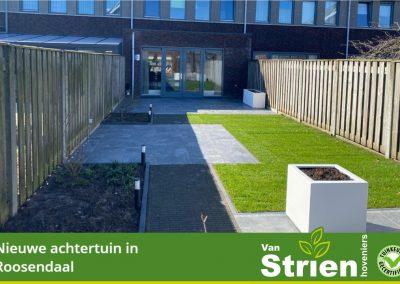 Compleet aangelegde tuin