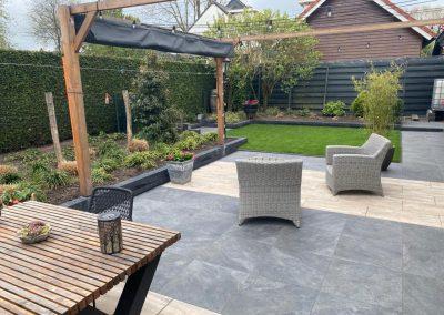 Nieuwe tuin in Hoeven!